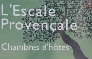Chambres d'hôtes l'Escale Provençale à Tourrettes
