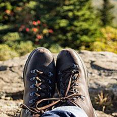 les randonnées à pieds