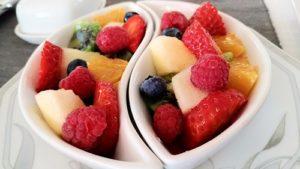 Salade de fruits à l'Escale Provençale