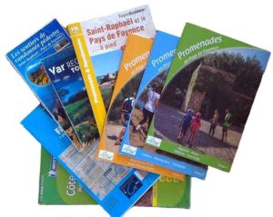 guides pour les randonnées à côté de l'Escale Provençale